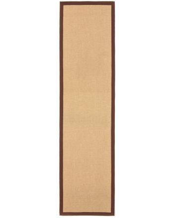 Tapis couloir Sisal Marron