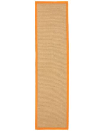 Tapis couloir Sisal Orange
