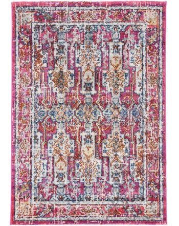 Tapis Aleyna Rouge