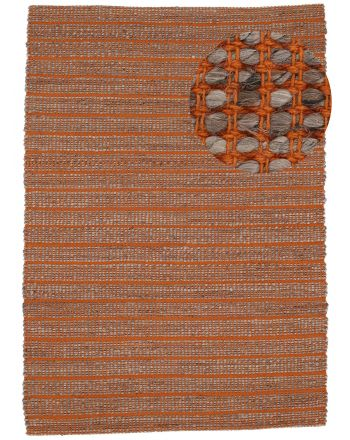 Tapis de Jute Lara Orange
