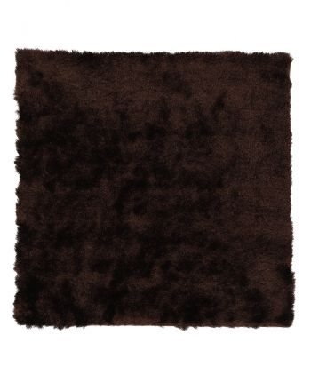 Tapis à poils longs Breeze Marron foncé