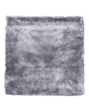 Tapis à poils longs Breeze Gris clair