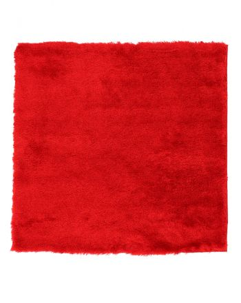 Tapis à poils longs Breeze Rouge