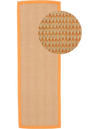 Tapis couloir Sisal Sofia Orange