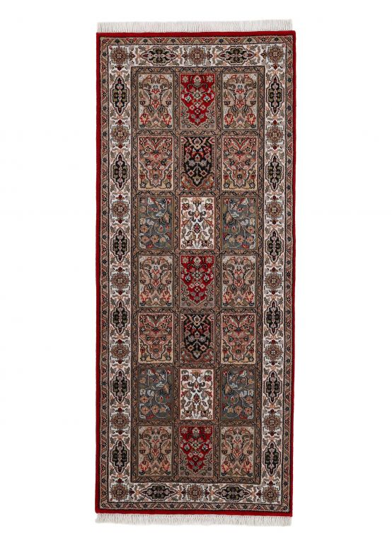 Tapis couloir Bachtiar Rouge